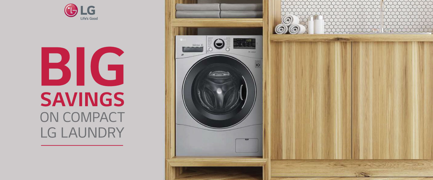 2018 LG Compact 24 Laundry Rebate Offer